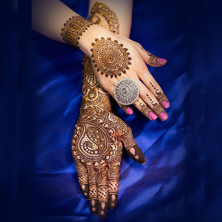 Bridal Hands Mehndi