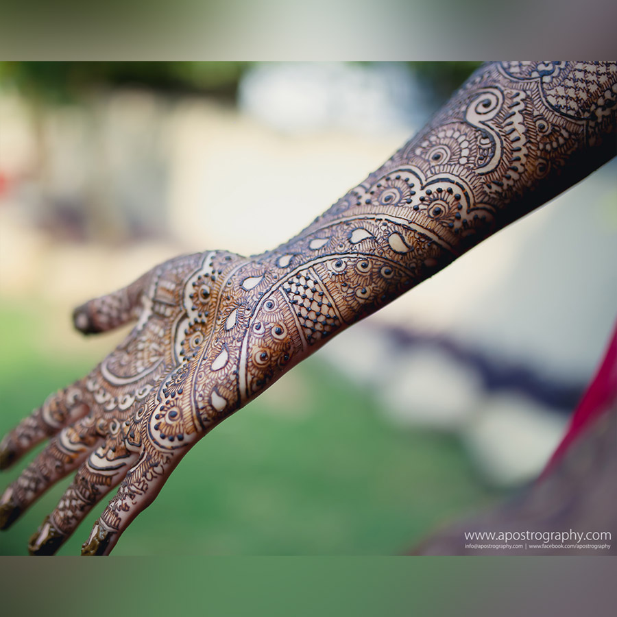 Intricate Bridal Mehndi
